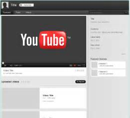youtube template http webdesign14 com