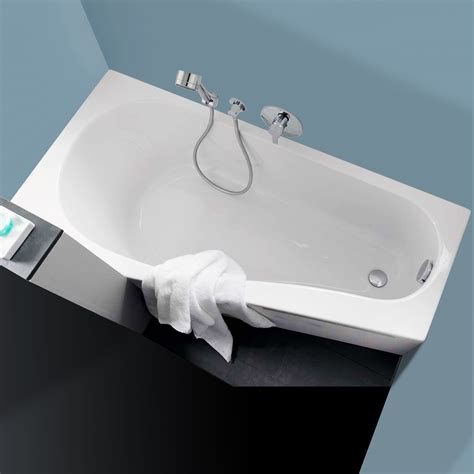badewanne keramag renova nr 1 keramag renova nr 1 comprimo raumspar badewanne rechts