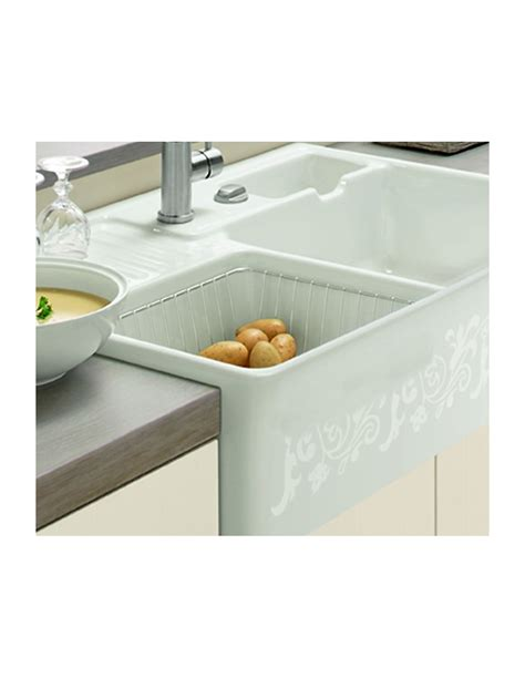 villeroy and boch sinks villeroy boch wire basket suits butler 90 kitchen