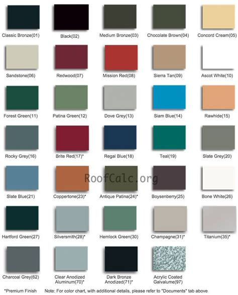 standing seam metal roof colors metal roofing ideas