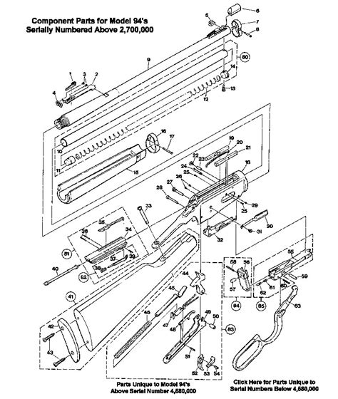 winchester model 94 parts diagram schematic for winchester model 94 get free image about