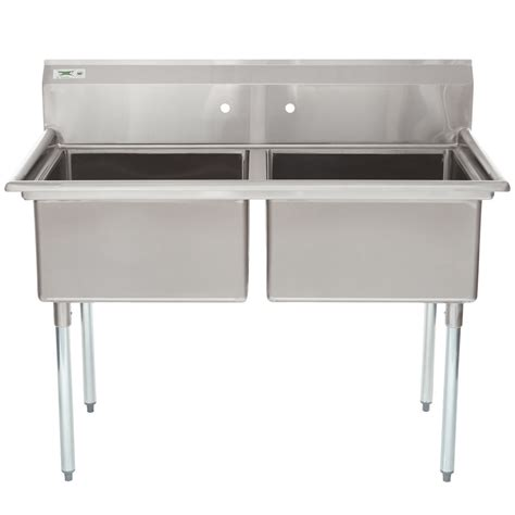 Stainless Steel Commercial Sinks by Regency 53 Quot 16 Stainless Steel Two Compartment