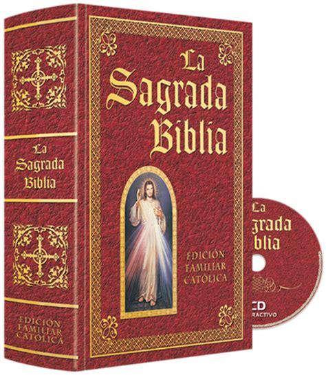 sagrada biblia con 8479144459 la sagrada biblia edici 243 n familiar cat 243 lica con cd rom sbefcgc 3 690 00 mxn 187 tel 5286