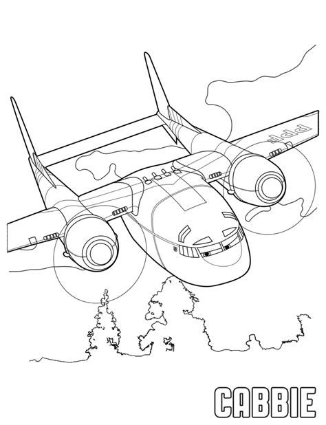 coloring pages planes fire and rescue doi iepurasi