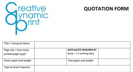 5+ quotation templates word excel pdf templates