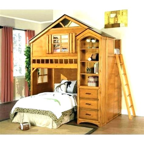 Wood Loft Bed With Desk Loft Bunk Bed With Desk Kid Loft
