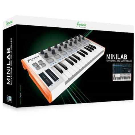 arturia minilab portable midi keyboard arturia from inta