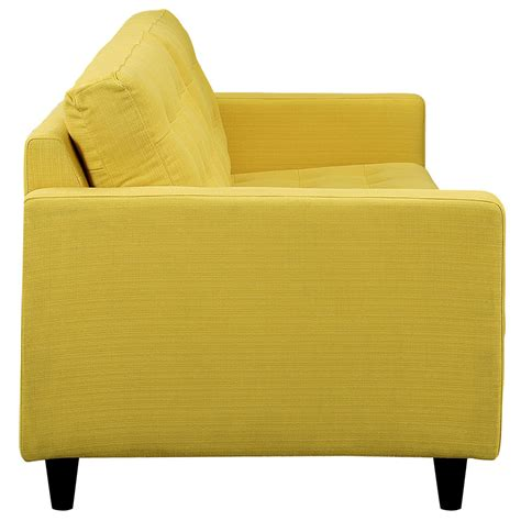 yellow settee yellow leather sofas enfield modern yellow sofa yellow