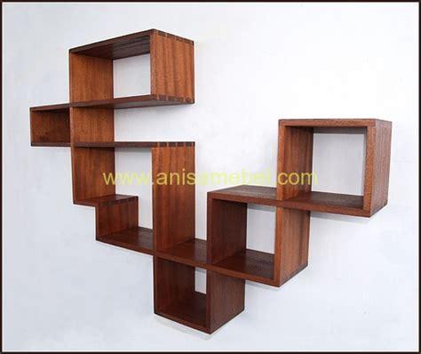 Rak Buku Gantung Surabaya rak buku gantung jual harga murah kayu jati mebel jepara