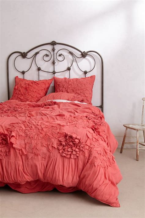 anthropologie bed 1000 ideas about coral bedspread on pinterest tj maxx