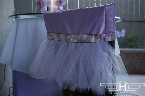 themed chair covers 25 best images about tutu decorations on tulle