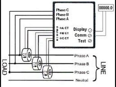 ct meter wiring diagram 23 wiring diagram images