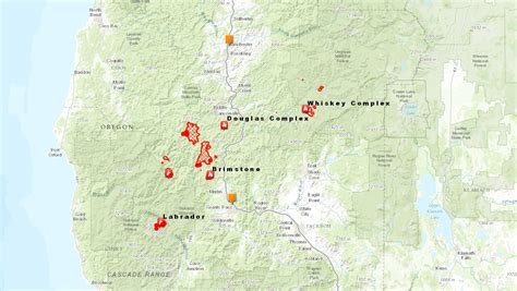 oregon fires map responding to the oregon wildfires
