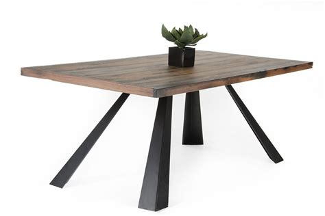 Modrest Norse Modern Ship Wood Dining Table Modern Modern Dining Table Wood