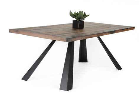 Wood Dining Table Modern Modrest Norse Modern Ship Wood Dining Table Modern Dining Dining