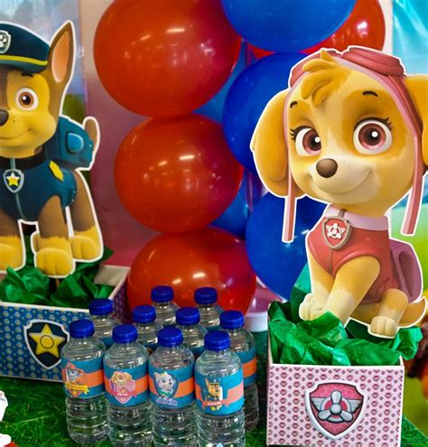 printable paw patrol birthday decorations diy paw patrol party decoration centerpieces free