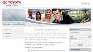 Toyota Hiring Toyota Dealerships Careers