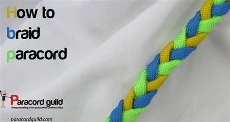 braid paracord paracord guild