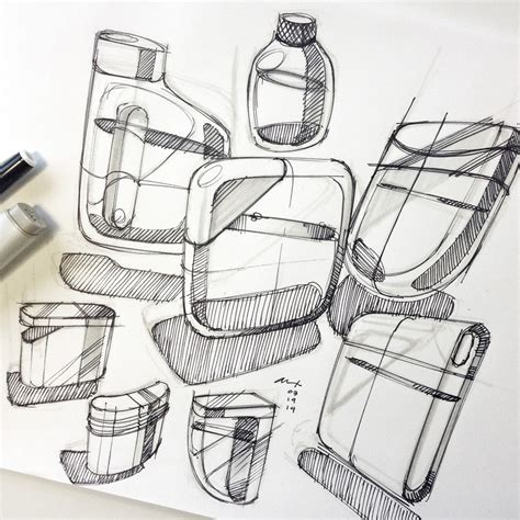 sketch design design sketches flask pensar development