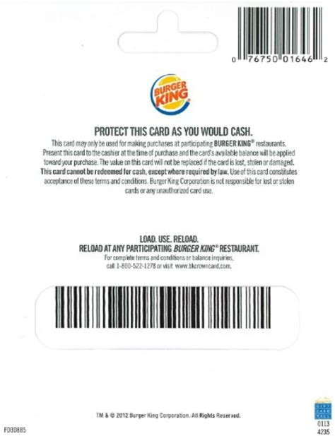 Burger King Gift Card Amount - taco bell gift card pin number gift ftempo
