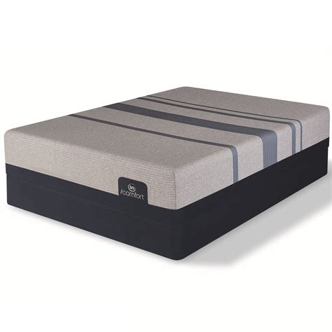 serta comfort serta icomfort blue max 1000 plush hope home furnishings