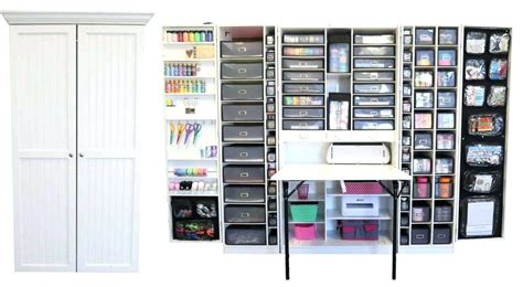craft cabinet with drop table folding craft cabinet with drop table fold out photo