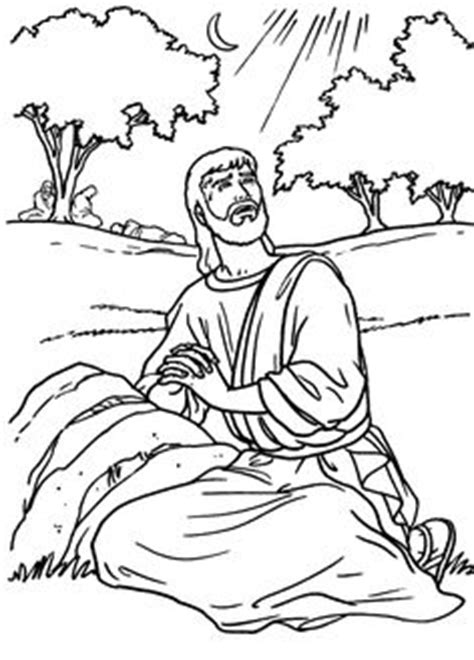 coloring pages jesus praying in the garden jesus praying in the garden of gethsemane catholic