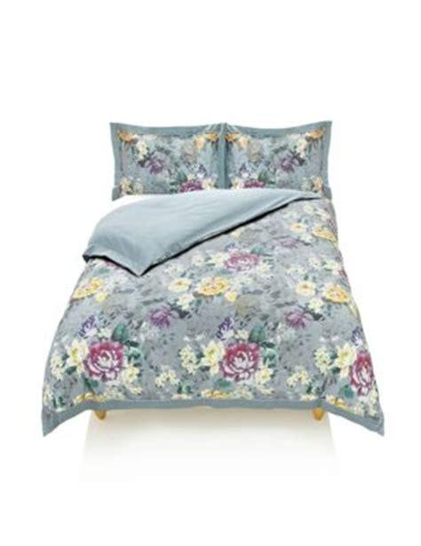 Winter Floral Bedding Set M S M S Bed Linen Sets