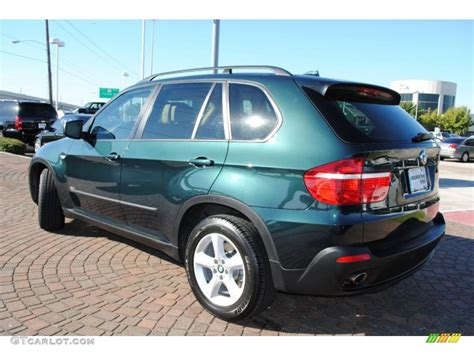 green bmw x5 green metallic 2008 bmw x5 3 0si exterior photo