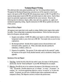 Report Writing Exle For Students by 10 Report Writing Exles Sles