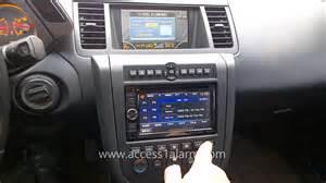 Nissan Murano Radio 2003 2007 Nissan Murano Kenwood 2 Din Radio Install