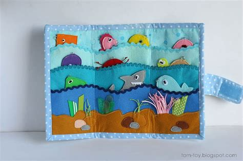 magnetic fishing playmat with sea creatures and