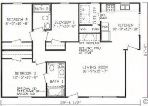14 x56 mobile home floor plan http www taylormade homes