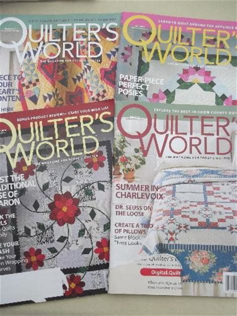 The Quilt Pattern Magazine by Lot Quilt Pattern Quilting Magazines 30 Back Issues