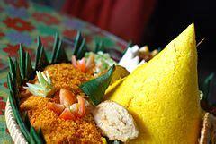 nasi kuning wikipedia bahasa indonesia ensiklopedia bebas