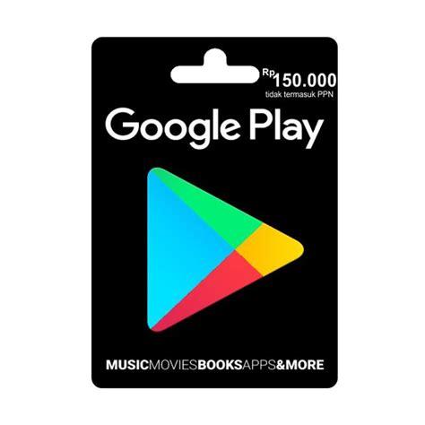 Google Play Gift Card By Email - jual google play gift card idr 150 000 online harga kualitas terjamin blibli com