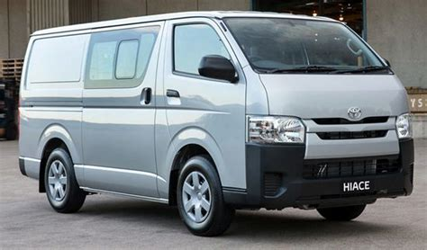 Toyota Commercial Vans 2018 Toyota Hiace Rumors Reviews Specs Interior