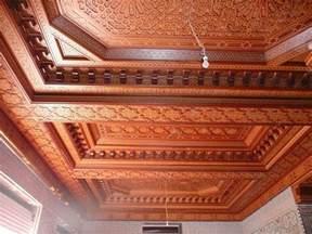 les meilleurs plafonds marocains en bois plafond platre