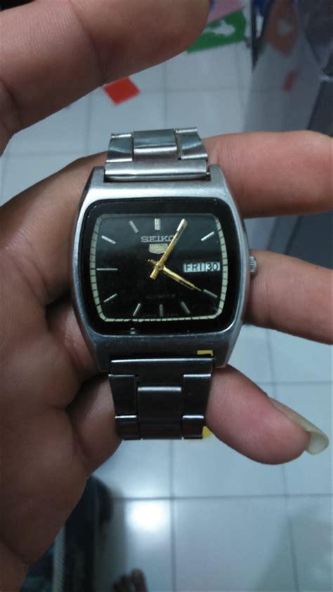 jual jam tangan jadul kuno antik seiko  automatic
