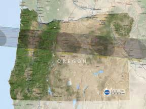 map of oregon total eclipse total solar eclipse cing