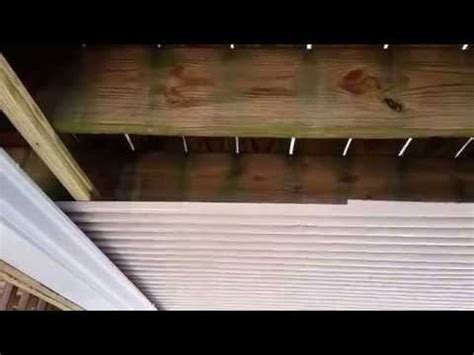 Diy Deck Drainage System by Deck Drainage Made Inexpensive How To Save Money