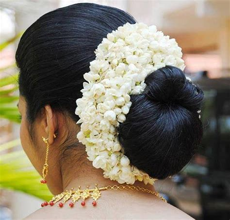 indian hairstyles with jasmine flowers top 19 simple and sleek indian hairstyles for curly hair