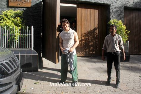 his house jackie shroff and tiger shroff snapped at bandra outside