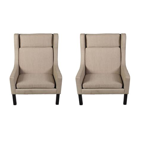 Wing Chair Recliners Sale by Modern Looking Pair Of Wing Chairs For Sale At 1stdibs