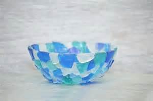 bowl beach home decor sea glass art diy sea glass bottles for summer decor hometalk