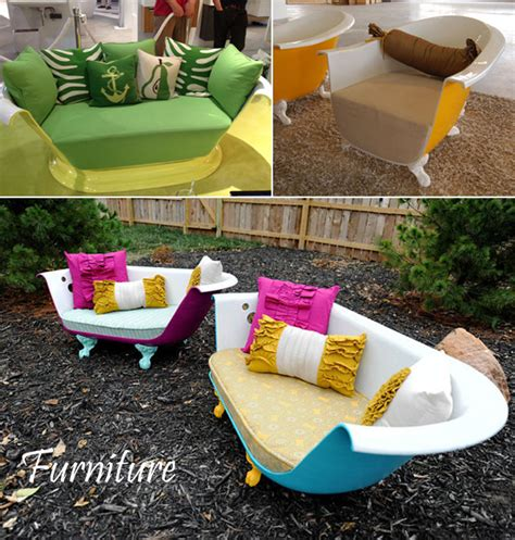 recycled bathtubs recycling repurposing old bathtubs and sinks furnish