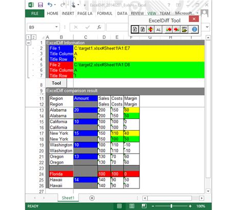 Excel Document For Comparing Mba Programs by Compare Access And Excel Files Free Programs Utilities