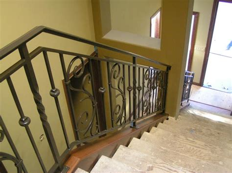 Home Interior Railings by Interior Stair Railing Metal Modern Interior Stair