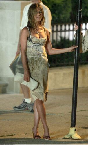Aniston Slip From The Breakup by I Want This Wardrobe Aniston In The Up