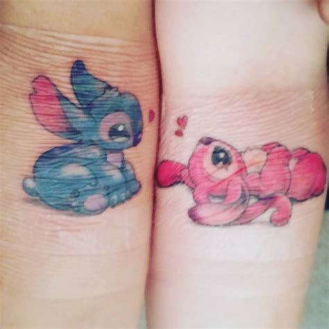 cute small matching tattoos stitch and www pixshark images